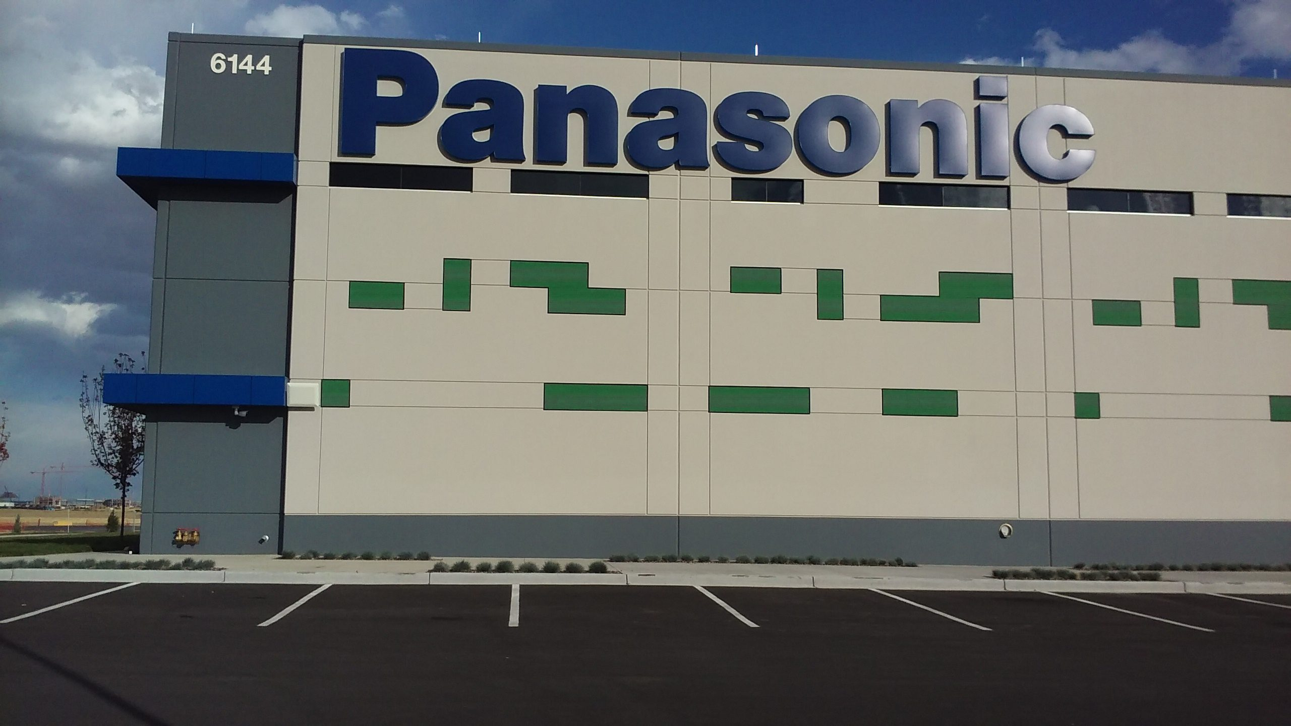 Panasonic custom sign by The Colorado Sign Company