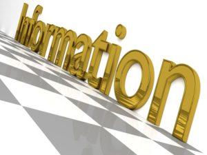 Information Channel Letter Sign Description Business